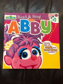 Read & sing along with Abby includes cd with music and read along narration (Sesame Street)