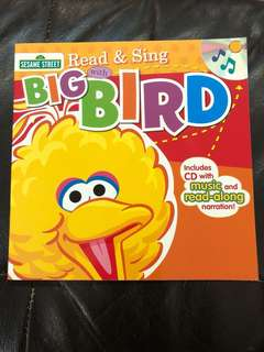 Read & sing with big bird includes cd with music and read along narration (Sesame Street)