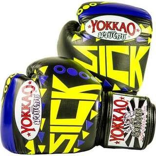 "Limited edition Yokkao ""SICK"" muaythai glove (10oz)"
