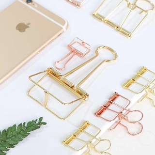 [PO] Gold / Rose Gold Paper Clips