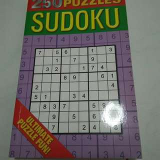 Brand new 250 Puzzles Sudoku book