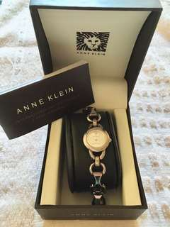 Anne klein diamond watch