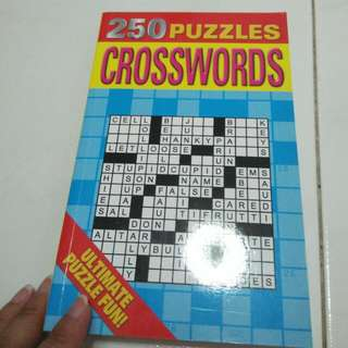 Brand new 250 Puzzles Crossword book