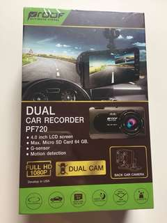 Proof Dual Car Recorder PF720