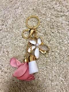 Handmade bag charm/ Keychain