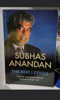 Subhas Anandan: The Best I Could. Singapore Top Criminal Lawyer Autobiography. Jersey / Polo / Shirt / Football / Soccer / Men