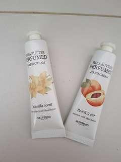 Skinfood Hand Cream (peach and vanilla)