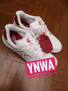 Liverpool 125 Years New Balance Shoes not Jersey