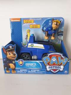 Brand new in box Nickelodeon Paw Patrol Chase Tow Truck 3+