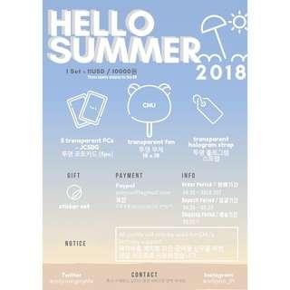 [GO] B1A4 CNU BIRTHDAY SUPPORT GOODS