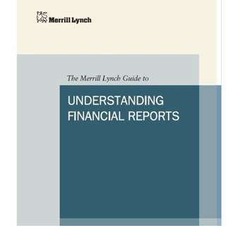 Merrill Lynch Guide to Understanding Financial Reports (E-Book)