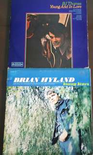 B. J. THOMAS ● BRIAN HYLAND.  young and in love / young years. (buy 1 get 1 free )  Vinyl record