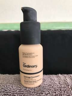 The Ordinary. Coverage Foundation. 1.2N