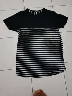 Stripe black S