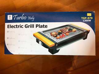 TURBO ITALY ELECTRIC GRILL PLATE 家用 燒烤爐