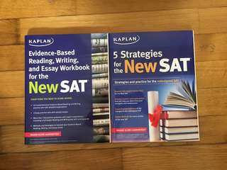 SAT Exam Kaplan Practice Books with Answers Almost New