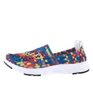 Korea Style - Rainbow Pattern Shoes