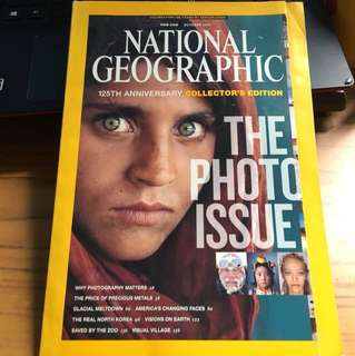 National Geographic 125th anniversary collector's edition