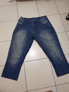 Jeans 3/4 (size 32)