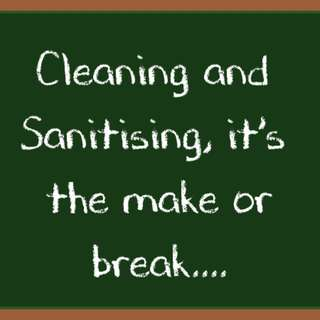 2 Step Cleaning Process  -