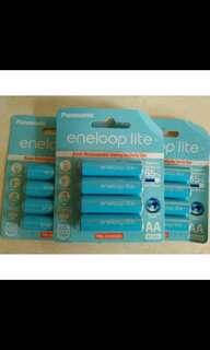 Batere Panasonic Eneloop Lite Rechargeable 1000 mAh AA