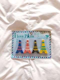 Cute Eiffel Tower Erasers