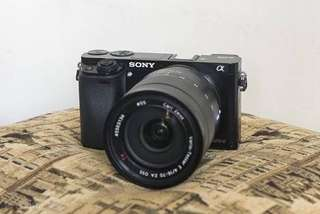 Sony Alpha A6300 Body Only + E PZ 18-105mm f4 G OSS Kredit Cepat DP Ringan