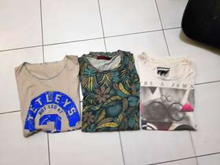 Tshirt pack 3pcs