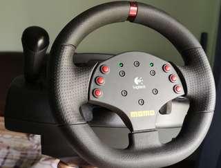 Logitech Momo Force Steering wheel