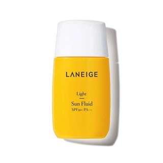 Laneige sunblock light sun fluid sunscreen