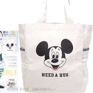 LEE x MICKEY MOUSE TOTE BAG