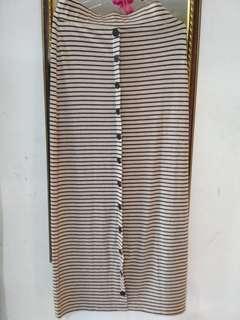 Stripe skirts