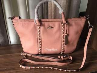 Coach Pearl Stud Sling bag