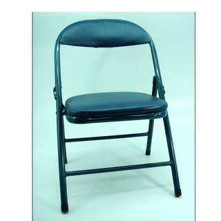 21.5 Inch Folding Chair (2 colors; Blue/Red)
