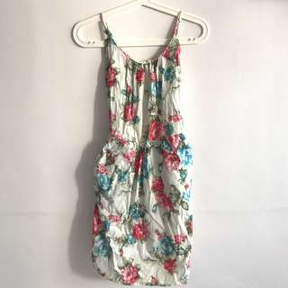 Flower Dress With Pockets