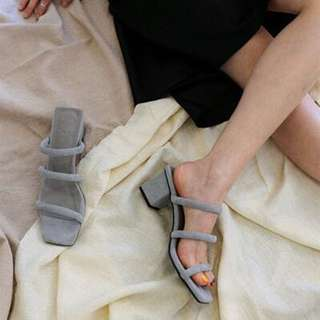 Minimalist slip on sandals - Pre order