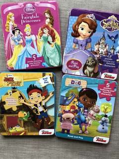 Disney Puzzle Foam Books