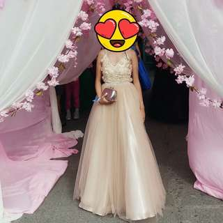 Nude Prom / Debut Gown