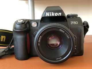 🚚 NIKON F80 + Nikkor 50mm AF
