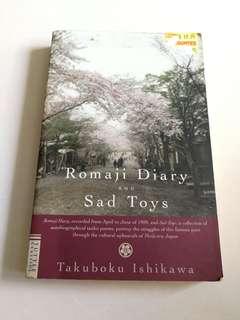Romaji Dairy and Sad Toys - Takuboku Ishikawa