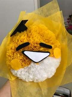Bunga smile graduation gift doll