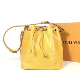 Authentic Louis Vuitton Petit Noe EPI Leather