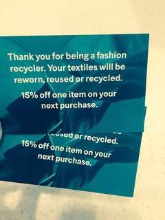 H&M Discount Vouchers