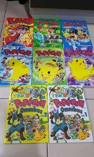 8 Pokemon comic books
