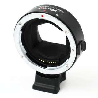 唯卓 viltrox EF-NEX III Canon鏡頭轉接Sony E接環相機轉接環