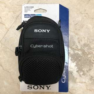 Sony camera bag cybershot