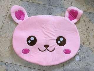 Pink bear mat anti slip