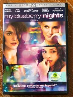 My Blueberry Nights (2007) R1 DVD