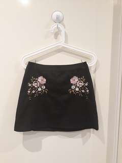 Brand New ASOS Embroidered skirt