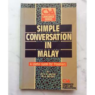 Simple Conversation in Malay